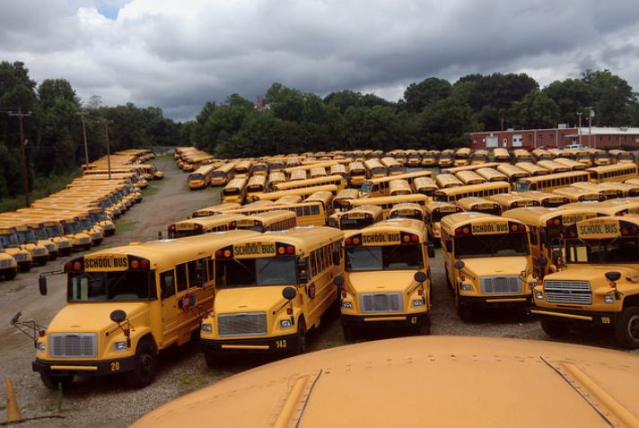 Big Rig Insurance Brokers can offer Bus insurance coverage for small school bus operations to large fleets.