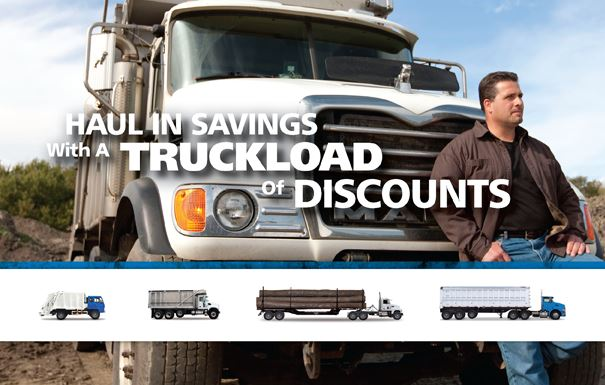 Big Rig Insurance Programs offers truckloads of discounts. Once we exchange information we will get busy saving you money on your trucking insurance.